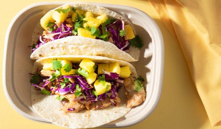 Al Pastor Chicken Tacos