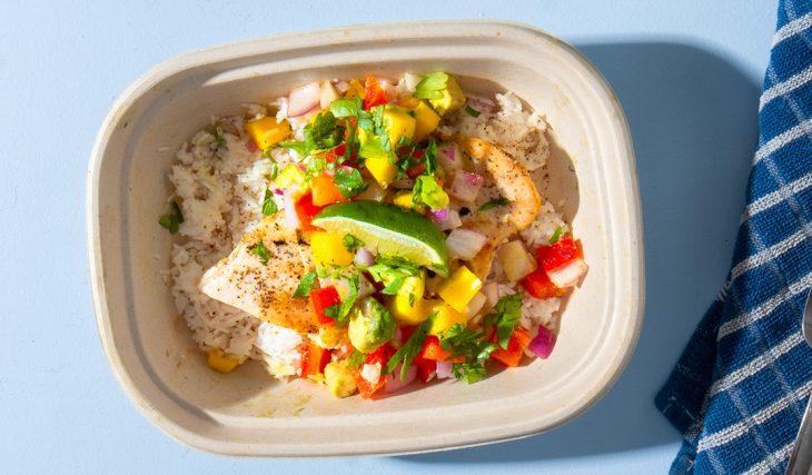 Mango Salsa Grilled Chicken