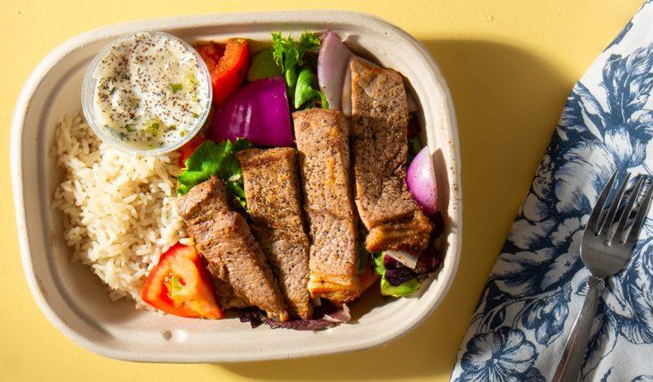 Steak Gyro Bowl