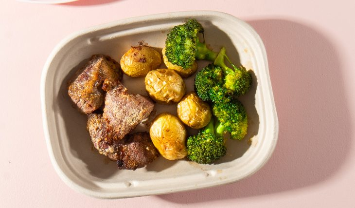 Garlic Steak and Potatoes