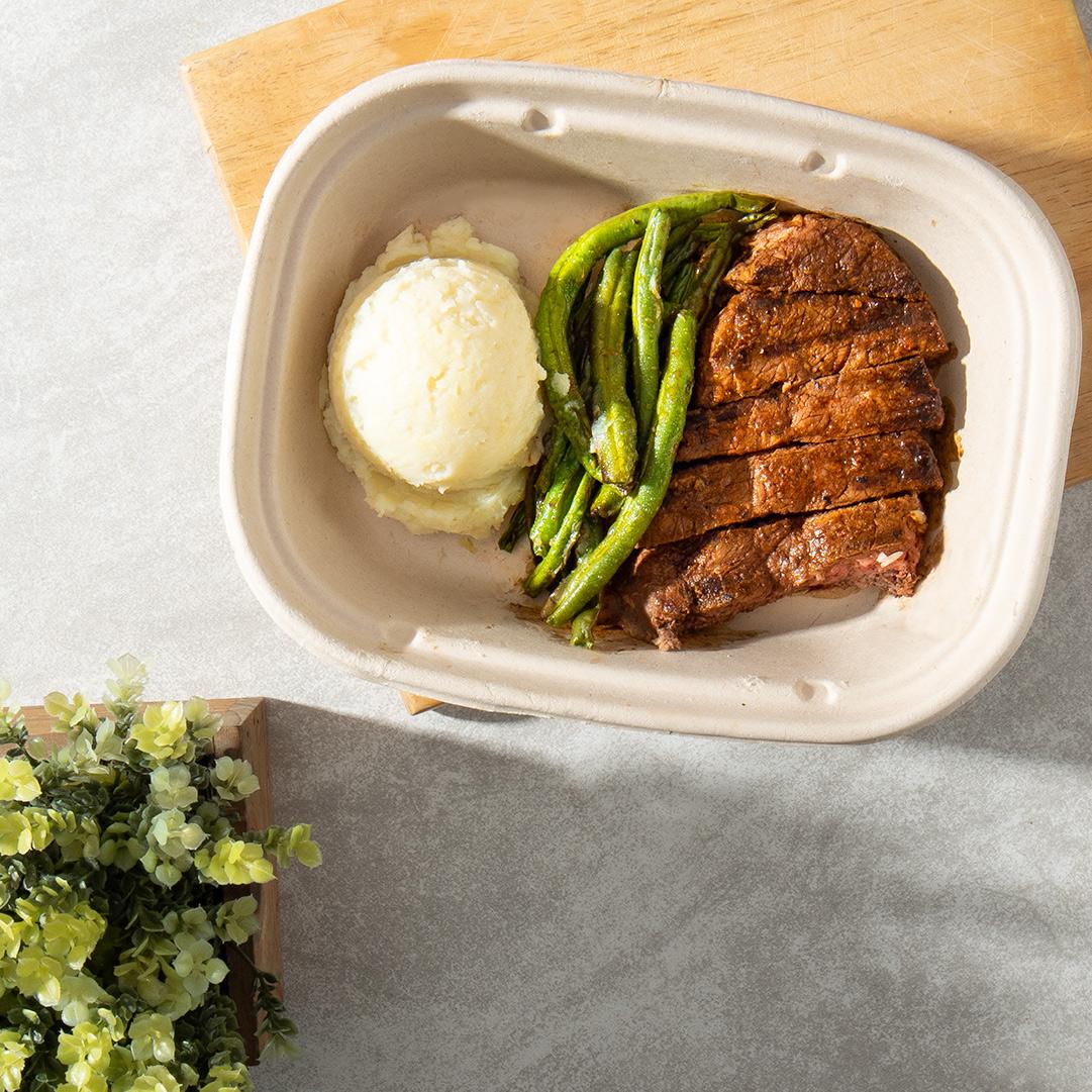 BBQ Balsamic Glazed steak