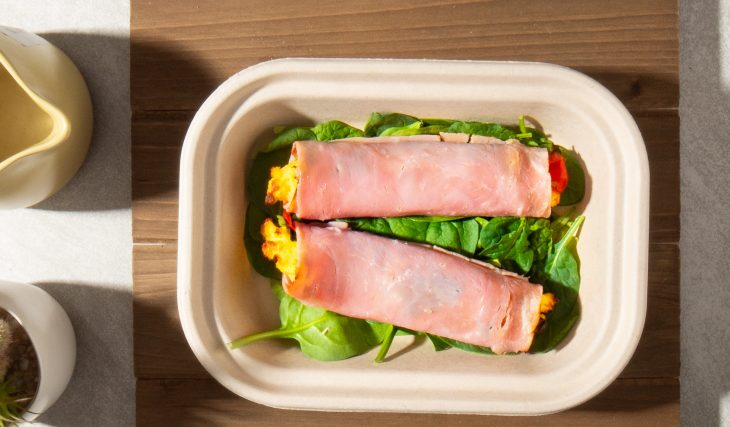 Ham and Cheese Roll Up