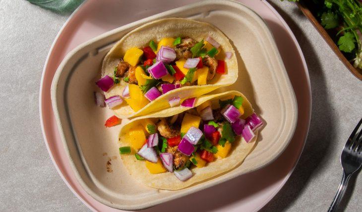 Grilled Jerk Shrimp Tacos