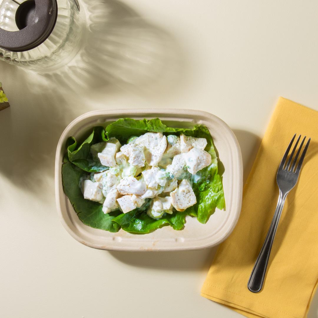 Chicken Salad Lettuce Wrap