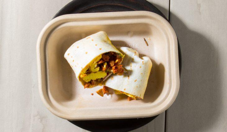 Chorizo Breakfast Wrap