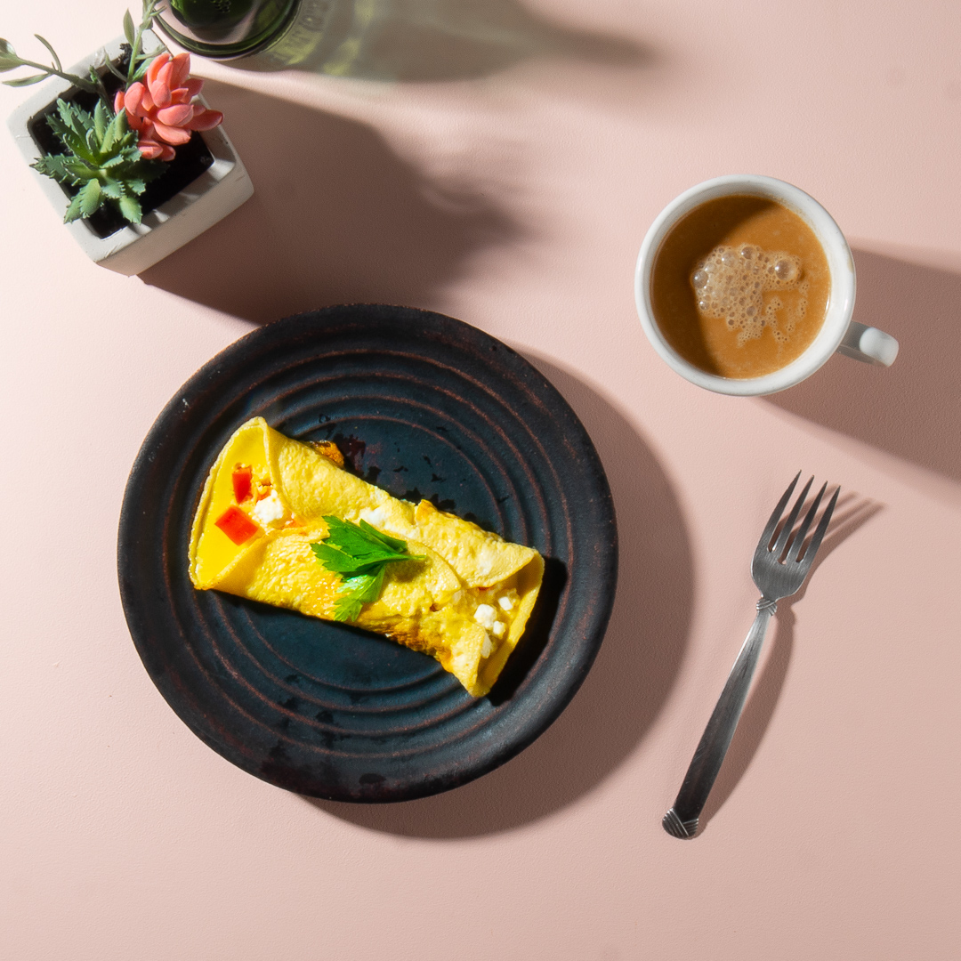Goat Cheese Omelette