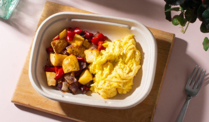 Sheet Pan Breakfast Bowl