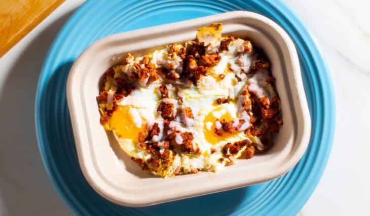 Fried Egg and Pork Bowl