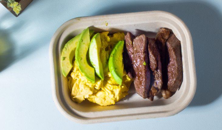 Steak and Egg Breakfast Bowl