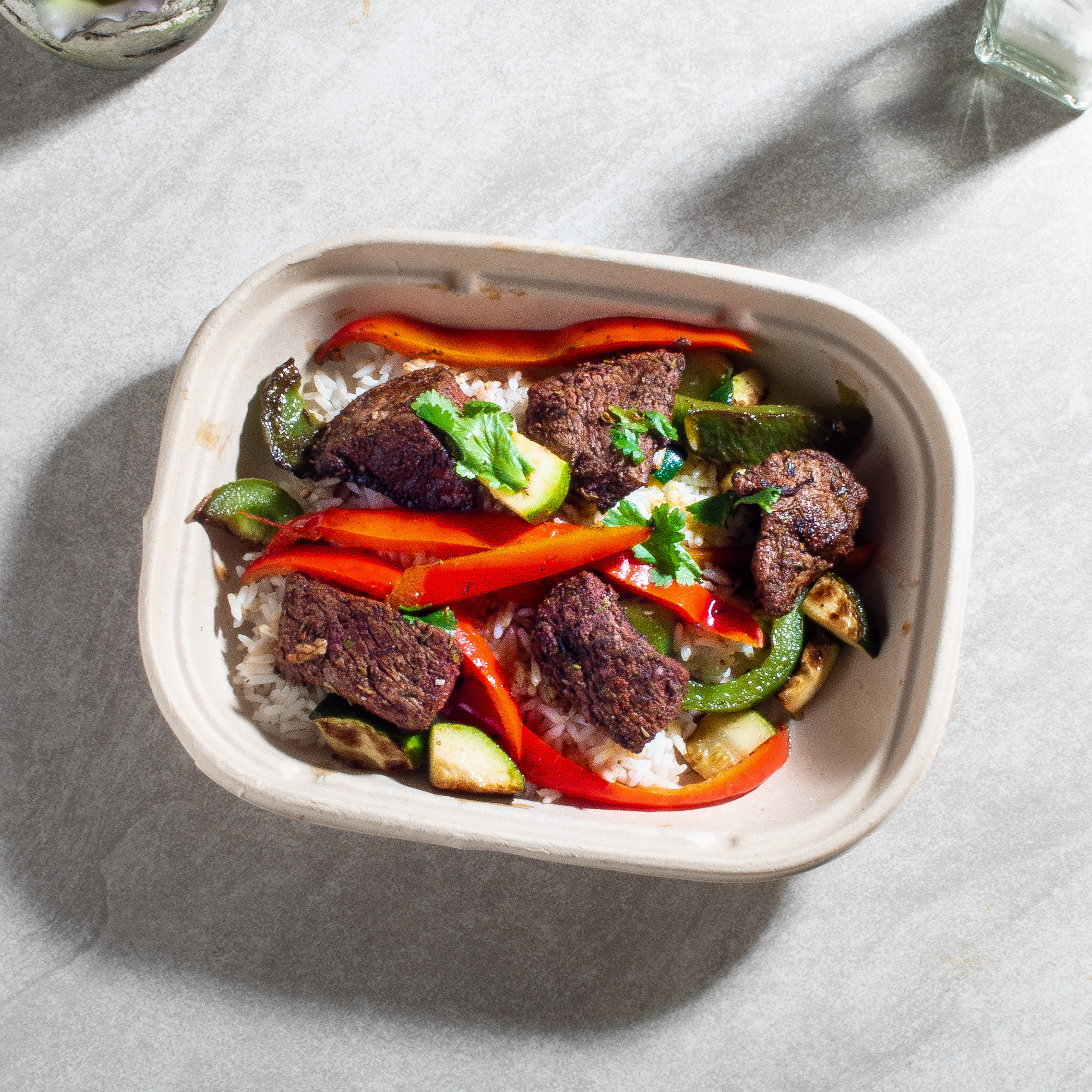 Cajun Butter Steak and Peppers