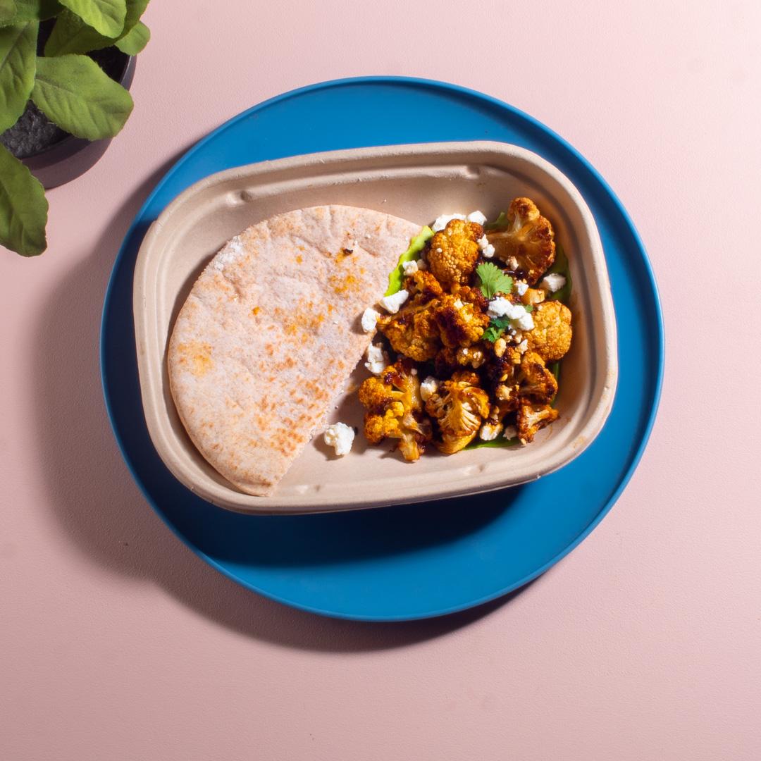 Cauliflower Shawarma Wraps