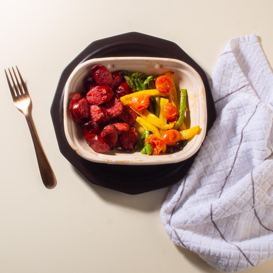 Kielbasa and Sheet Pan Veggies