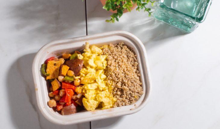 Sweet Potato Breakfast Hash and Quinoa Breakfast Hash