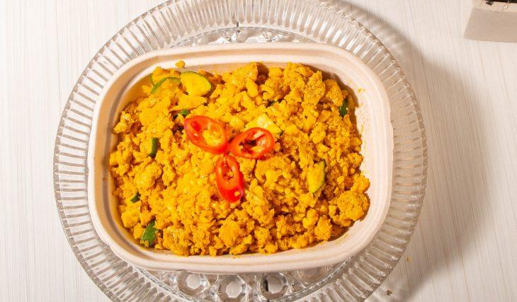 Golden Chicken and Rice Skillet